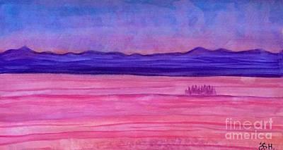 Painting - Evening Trip  by Wonju Hulse