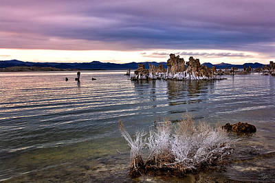 Photograph - Evening Tufa Two by Endre Balogh