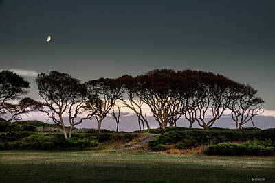 Dusk At Fort Fisher Art Print