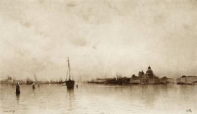 Evening,  Venice  By I Will, Pseudonym Art Print