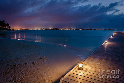 Photograph - Evening View Of Antigua by Wendy Gunderson