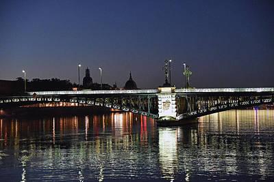 Photograph - Evening View - Pont De L' Universite by Harvey Barrison