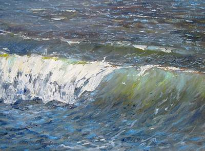 Evening Wave Art Print by Thomas Glass Phinnessee
