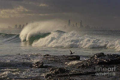 Photograph - Evening Wave by Werner Padarin