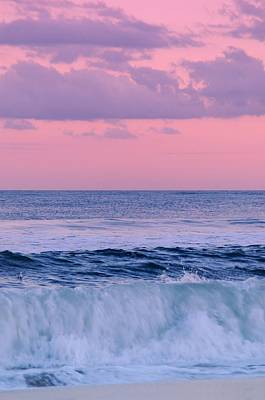 Photograph - Evening Waves 2 - Jersey Shore by Angie Tirado