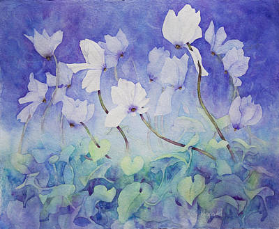 Painting - Evening Whites by Lisa Vincent