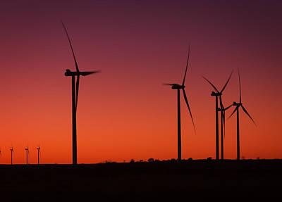 Photograph - Evening Wind by Ricky Barnard