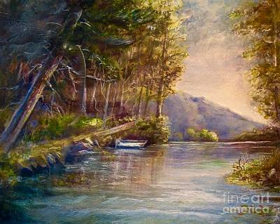 Painting - Evening's Twilight by Patricia Schneider Mitchell