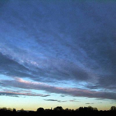 Photograph - Evening's Veil by Anne Kotan