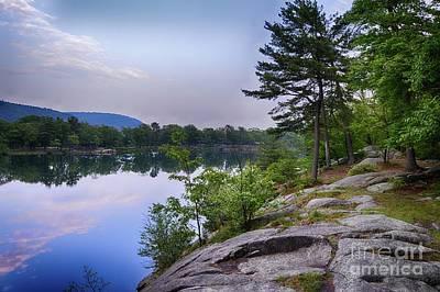 Photograph - Evenning On Hessian Lake by Scott Harrison
