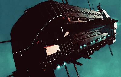 Painting - Event Horizon by Andrea Mazzocchetti