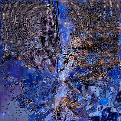 Digital Art - Event Horizon by T Bork