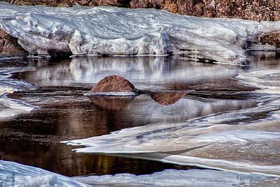 Photograph - Event Ice Horizon.... by Paul Vitko