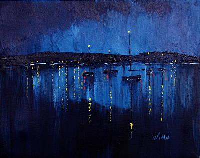 Painting - Eventide by Brett Winn