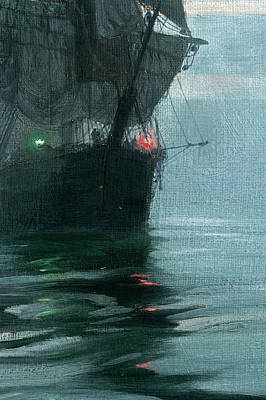 Sphere Painting - Eventide by Montague Dawson