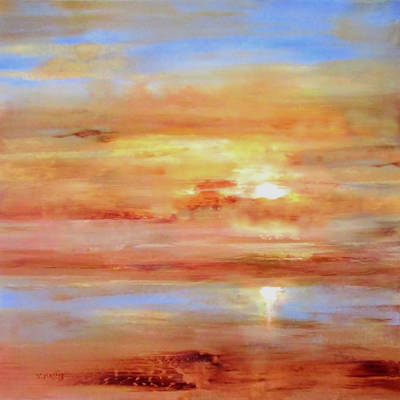 Painting - Eventide By V.kelly by Valerie Anne Kelly