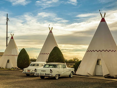 Photograph - Ever Sleep In A Wigwam? by Cheri Randolph