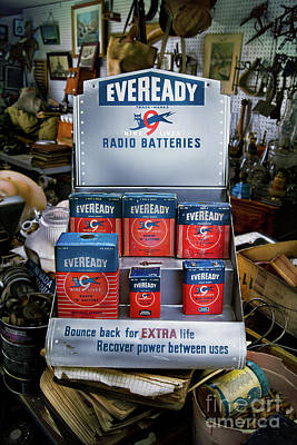 Photograph - Eveready Batteries by YoPedro