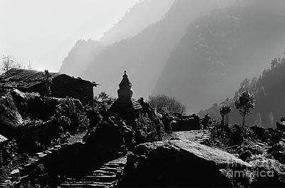 Photograph - Everest Region Chorten - Nepal by Craig Lovell