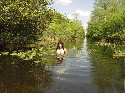 Art Print featuring the photograph Everglades Beauty One by Lucky Cole