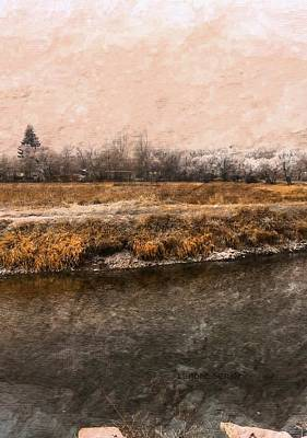 Digital Art - Evergreen Above All by Lenore Senior