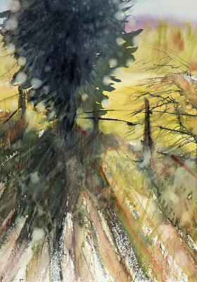 Painting - Evergreen by Judith Levins