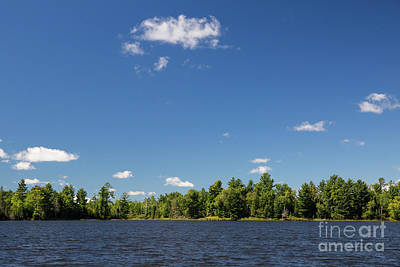Photograph - Evergreen Lake Clouds by Kevin McCarthy