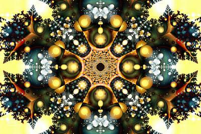 Digital Art - Evergreened Wreath by Jim Pavelle