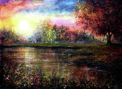Painting - Everlasting Love by Ann Marie Bone