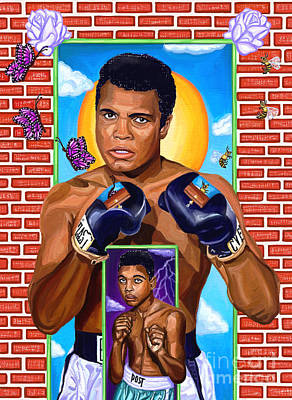 Boxing Legends Digital Art - Everlasting Greatness by Deborah Camp