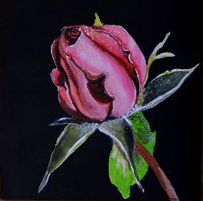 Everlasting Rose Original by Betty-Anne McDonald