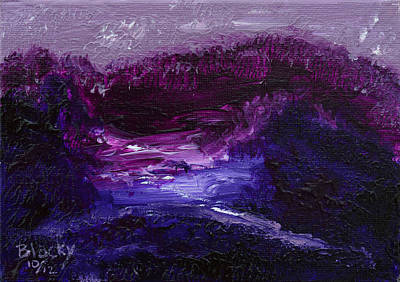 Painting - Everlasting Twilight by Donna Blackhall