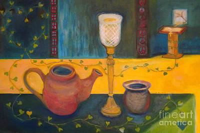 Painting - Everlasting Vine by Karen Francis