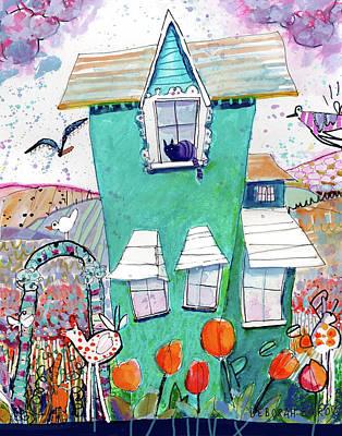 Painting - Everly by Deborah Burow