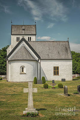 Photograph - Everods White Church by Antony McAulay