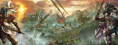 Everquest Battlegrounds Print by Ryan Barger