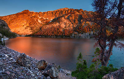 Photograph - Everson Lake by Leland D Howard