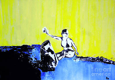 Surfing Art Drawing - Every Day. by Marat Cherny