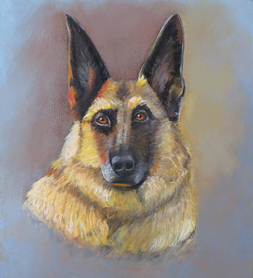 Pastel - Every Dog Has Its Day by Karen Sperling