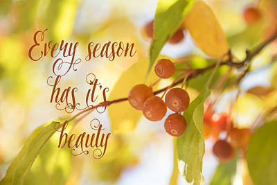 Digital Art - Every Season Has It's Beauty by Ramona Murdock
