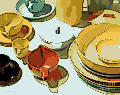 Everyday Dishes Art Print