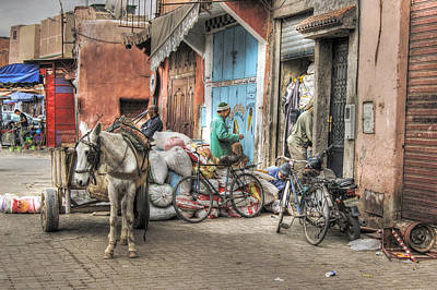 Photograph - Everyday Marrakech by David Birchall