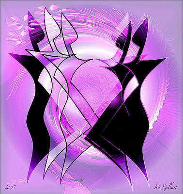Digital Art - Everyone Dance by Iris Gelbart