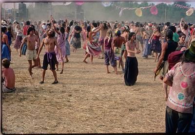 Veneta Photograph - Everyone In The Hayfield by David J Warrington