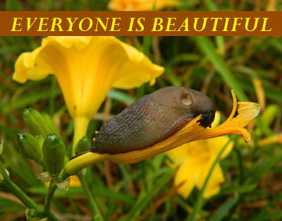 Anti-bullying Photograph - Everyone Is Beautiful by Gallery Of Hope