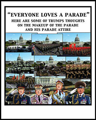 Digital Art - Everyone Loves A Parade by Joe  Palermo