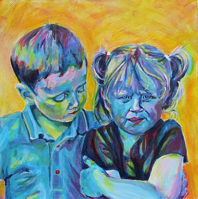 Comfort Painting - Everything Is Gonna Be Alright by Karin McCombe Jones
