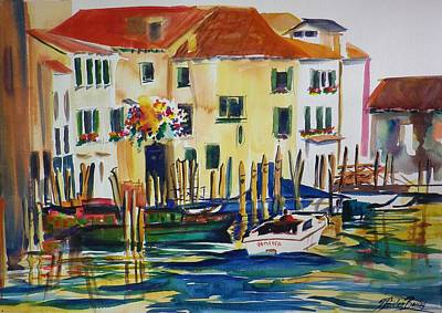 Everything Venice Art Print by Therese Fowler-Bailey