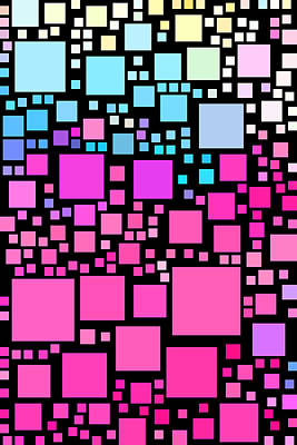 Everywhere Square 8 Art Print