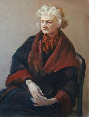 Painting - Eve's Greatcoat by Robert Holden